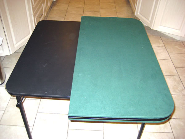 Gaming Table Extenders For Card Tables, Round Card Table Extender